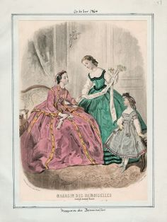 In the Swan's Shadow: Magasin des Demoiselles, October 1864
