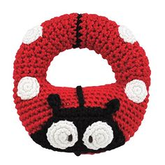 Amazon.com : Dandelion Hand Crocheted Ring Rattle, Dog (Discontinued by Manufacturer) : Baby Rattles : Toys & Games