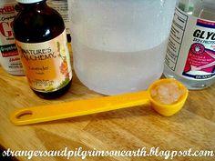 Homemade Natural Hair Detangler Recipe