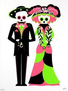 Fex Art: Caveiras Mexicanas - Mexican Skulls