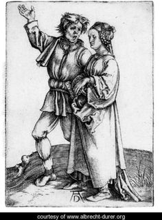 The Peasant and his Wife - Albrecht Durer