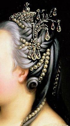 Elizabeta Petrovna, Empress of Rusia by Heinrich Buchholz, 1768