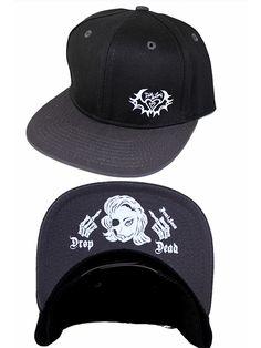 """Women's """"Drop Dead"""" Snapback Cap by Demi Loon (Black) #InkedShop #hat #snapback #style"""