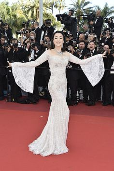 Gong Li | Here's What Everyone Wore To The 2016 Cannes Film Festival