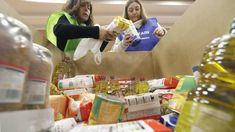 El Banco de Alimentos pide voluntarios para clasificar las donaciones