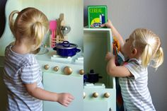 Mini mint play kitchen