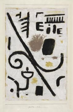 Paul Klee 'Eile' (Haste or Rush) 1938