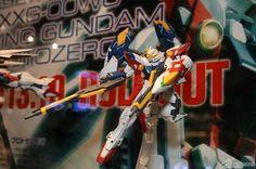 MG 1/100 Wing Gundam Proto Zero @ C3 X Hobby 2013 Display
