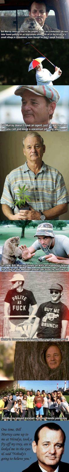 Bill Murray tribute… (2 of 2)