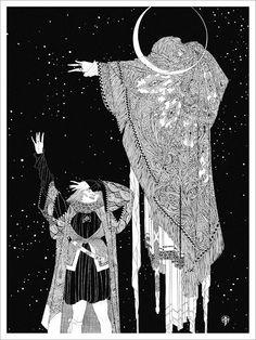 John  Austen illustration - Hamlet