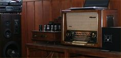 Antique radios restoration by italian artisans