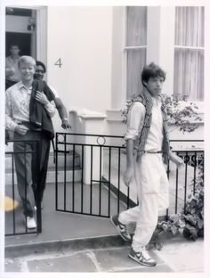 David Bowie and Mick Jagger 80s.