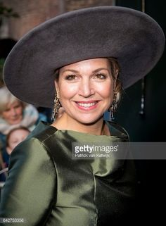 Queen Maxima Of The Nederlands Opens 'A Royal Paradise' Exhibition In Dordrecht Museum