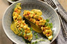 Dieses Gericht ist fruchtig, deftig und sättigend zugleich mit einem Hauch Indien dank Kurkuma und Curry.