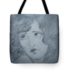 Clara Framed Tote Bag by Joan-Violet Stretch