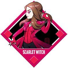 Marvel - Scarlet Witch by Quas-quas on DeviantArt