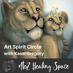 Learn more about Intuitive Art, and join our Art Spirit Circle on Monday evening for only $1! https://www.atozhealingspace.com/circle-art-spirit-with-kassi-gregory/