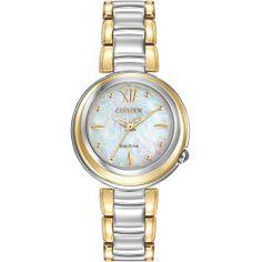 Ladies Citizen Eco-Drive Two-Tone Citizen L Sunrise Watch