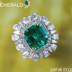 feel unique among everyone by adorning emerald ring.