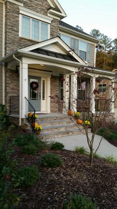 New home landscaping completed in Durham