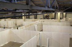 Diseños de fabricación de las paredes se llevó a cabo en un corto período de tiempo