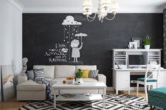 Скандинавский стиль в однокомнатной квартире в Москве