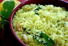 South Indian Lemon Rice Recipe - Sabrina Luithlen - South Indian Lemon Rice Recipe South Indian Lemon Rice - My favorite Indian place in Athens (now gone) made lemon rice and I haven't been able to find it anywhere else. Rice Recipes, Indian Food Recipes, Asian Recipes, Vegetarian Recipes, Cooking Recipes, Healthy Recipes, Ethnic Recipes, South Indian Lemon Rice Recipe, South Indian Food