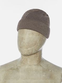 Accessories. – Universal Works Universal Works, Cotton Beanie, Wool Wash, Iron Decor, Designer Clothes For Men, Winter Hats, Cap, Once In A Lifetime, Sculpture