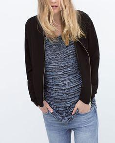 Image 1 of ZIP-UP JACKET from Zara