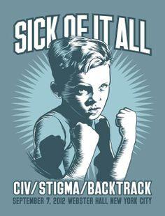 NYHC! Sick Of It All, CIV, Stigma and Backtrack