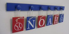 BASEBALL Nursery Decorating Ideas Set  includes by NelsonsGifts, $29.00