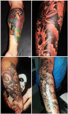 #Various #Arm #Oriental #Tattoo BY GOOS BRUSCHI