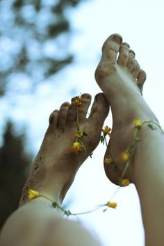 When you walk with naked feet, how can you ever forget the earth?  ~ Carl Jung