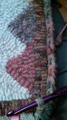 crocheted edge