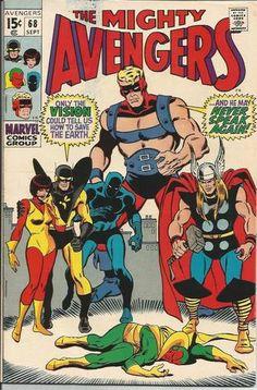 AVENGERS #68 Fantastic Silver Age Marvel find! Grade 7.0!!! http://r.ebay.com/w1OfSM