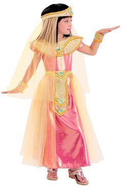GIRLS Egyptian PRINCESS CLEO COSTUME