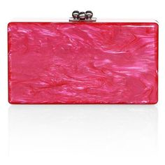 Designer Clothes, Shoes & Bags for Women Pretty Girl Rock, Pretty In Pink, Pink Clutch, Pink Handbags, Acrylic Box, Evening Bags, Hot Pink, Coin Purse, Purses