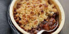 Crumble poires Nutella