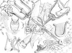 Percy Jackson fan art------This is the coolest thing ever!!!!!!!!! i want this for my birthday...