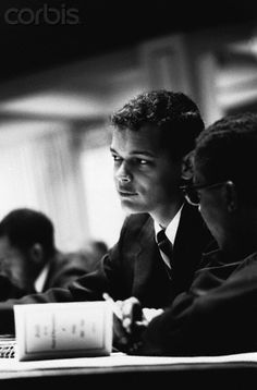 very young Julian Bond