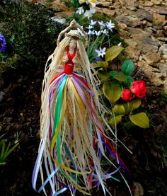 beltane decorations | Beltane May Queen Garden Faerie Pagan Wiccan May Day Fairy Decoration
