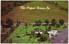 Ovid NY Argus Drive-In Restaurant Store Golf Course 1960s