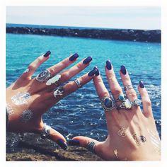 #rings #sea #boho #jewelry