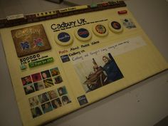 Cadbury makes Google+ page out of chocolate to celebrate 500,000 fans. Yum!