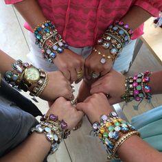 Victoria Lynn handmade jewelry! Material Girls fave!