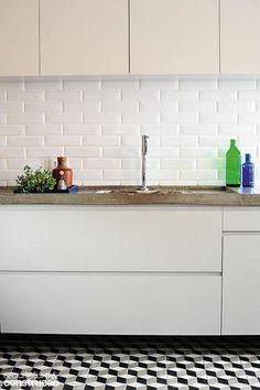 Revista Arquitetura e Construção - Bancadas de cozinha à sua moda