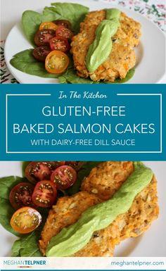 Gluten-Free Baked Salmon Cakes