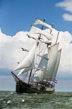 Marjorie 2, sailing vessel/ hotelships from Antwerp.