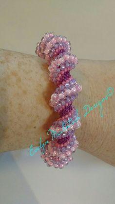 Cellini Spiral Bracelet by Evelyn McIntosh Designs