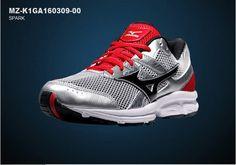 Mizuno Mens Spark Athlectic Running Shoes Sneakers MZ-K1GA160309-00 #Mizuno #AthleticSneakers